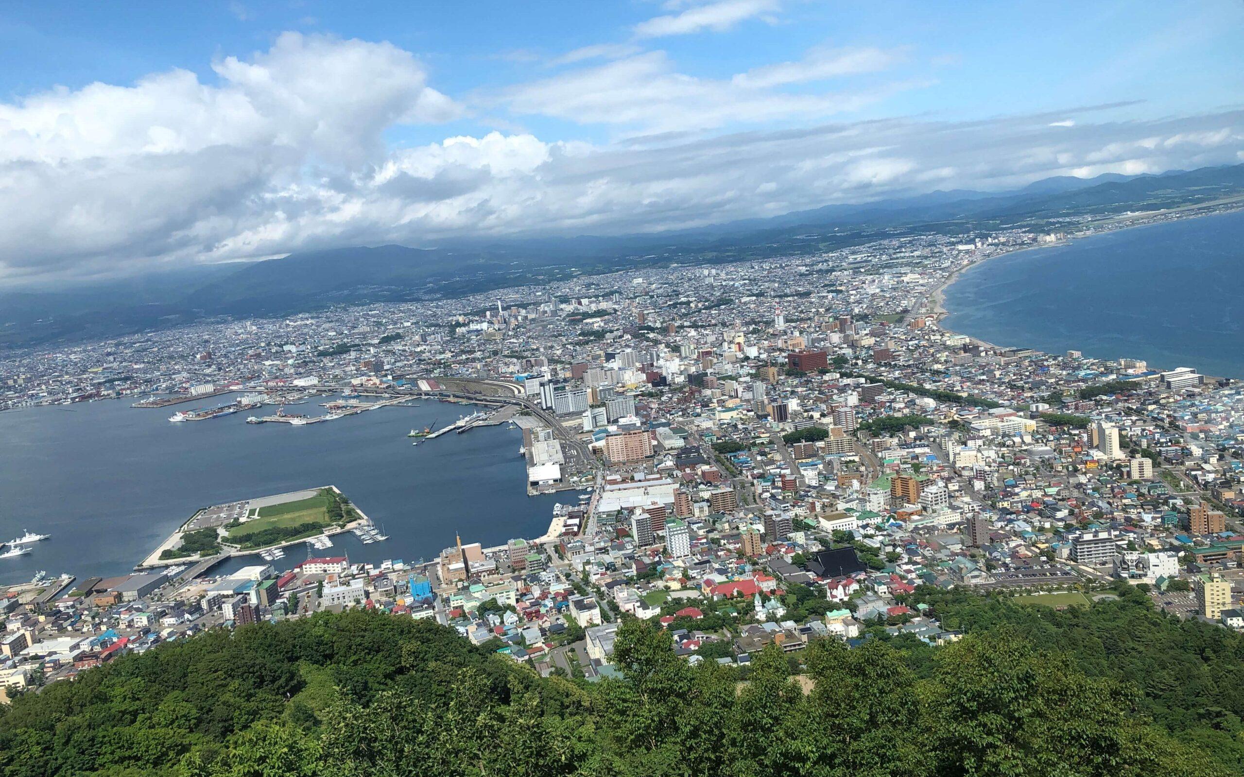 函館山からの眺め