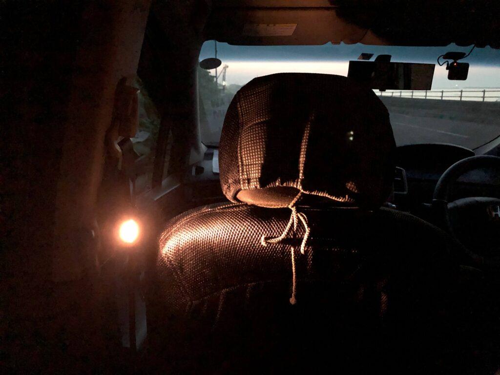 車中泊にも最適なLEDミニランタン